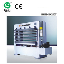 high efficiency mdf short cycle laminating hot press /door press machinery hot sale made in china