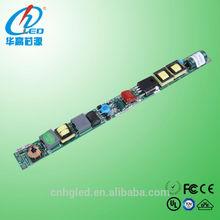 HGTF-G102A pass TUV/UL led red tube animal x tube led tube 18w led driver module