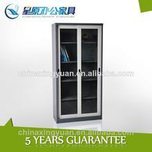 China Top sliding door filing cupboard office furniture