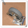 """4"""" industrial caster black or grey rubber wheels and casters"""
