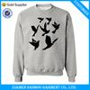 Warm Custom Printed Sweater Screen Printing Wholesale Crewneck Without Hood