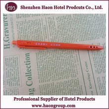 hotsale promational plastic ball pen wholesale