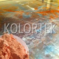 metallic Concrete Stain Pigments for Flooring ,epoxy floor coatings pigment manufacturer
