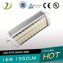 Samsung 5630smd chip R7S Lamp led R7S 150w bulb Dimmable R7S CRI>80 isolate led driver