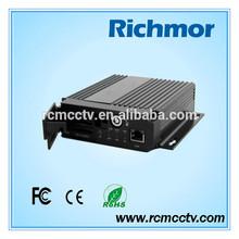 Richmor hd sdi mobile dvr ,Richmor H264 standalone 4 channel car dvr for vehicle remote for dvr 4ch mobile dvr for car