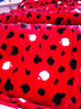 Polyester one side brushed coral& flannel fleece cloth fabric