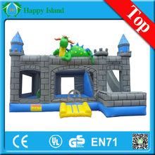 2014 HI EN14960 0.55mm PVC bounce, bouncing bouncy houses for sale