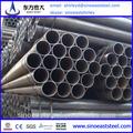 Caliente! Chino molino de suministro astm a36 de acero al carbono tubería/acciones tubo de tamaños estándar a precios de fábrica
