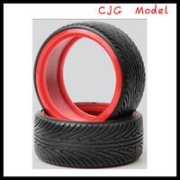 Racing colored car tires 4pc For dji phantom 2 vision,red car tires