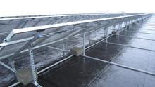good quality pile ground adjustable solar mounting rack