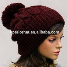 cheap winter bobble hats for sale women