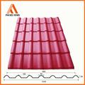 Residencial resina sintética pvc japonesa telhas telhado