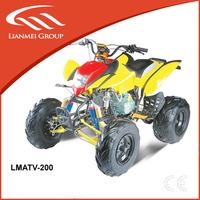 gas powered super sports 200cc quad atv for sale 4-stroke