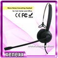 Mono ah528 ruido- de cancelación rj9 call center auriculares