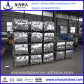 Caliente!! Molino chino estándar de la fuente de zinc de acero corrugado techo de hoja de especificaciones de valores los precios de fábrica