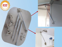 Furniture Hardware Lift Up Pneumatic Gas Spring for cabinets kitchen Cupboard support 50-300N Load Bearing