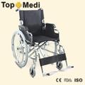 rehabilitationstherapie liefert topmedi behinderte portable langlebig handbuch stahl leichte falten medizinische rollstuhl