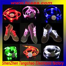 new crazy led flashing shoe laces 2014