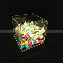 Square Acrylic Boxes for Candy, Square Clear Acrylic Candy Box, Mini Acrylic Candy box