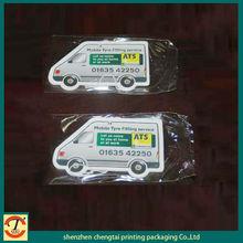 Costom any Car shaped hanging paper car air freshener perfume