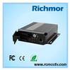 Richmor H264 standalone 4 channel car dvr for vehicle remote for dvr 4ch mobile dvr for car
