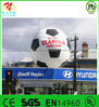Inflatable characters inflatable football advertisement for elantra cars