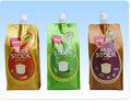 Alto forma \ jugo de frutas en surtidor bolsa / de pie del tubo de salida de la bolsa