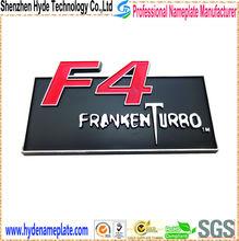 custom plastic logo car logos, lighted emblem plastic logo for car