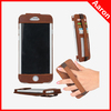 Matt leather flip cover pouch sleeve for Apple iPhone 6 mobile phone case