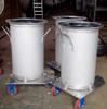 stainless steel milk tank with wheel