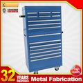 armário de aço inoxidável tipo de metal industrial ferramenta baús