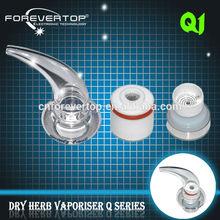 Factory price unique design Q1 horn-shaped pen gun price dry herb vaporizer Q1