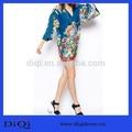 Mode sexy v- col kimono design style vestimentaire des femmes