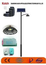 Die Cast Aluminum solar led garden light 3.5m High Garden Solar Light