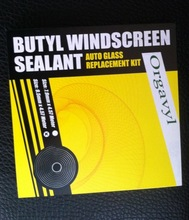 DLAND SNAKE BUTYL WINDSCREEN SEALANT ADHESIVE FOR HEADLAMP SEALING