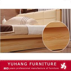 hotel home bedroom furniture wooden bed frame designs