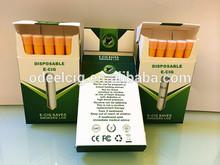 Prefilled no nicotine electric cigarettes disposable e shisha pen