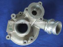 aluminum casting water pump cover aluminum water pump aluminum casting for auto water pump