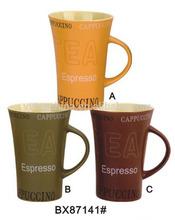 hot sale espresso tea cups ceramic for tea branded mugs