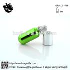 GRM12-1538 3ml stainless steel roll on bottle vilas