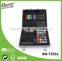 Portable wholesale school pencil case /stationery paint Set