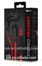 2014 Excellent Fashion crazy fun bulk metal earbuds earphone wholesale