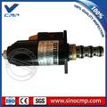 320 e320b e320c excavadora hidráulica de la bomba rotativa válvula de solenoide giratorio 121-1491 12v