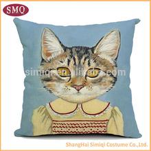2015 wholesale custom baby plush animal cushion