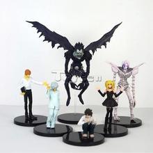 Anime Death Note 6pcs/set action figures cheap price action figures PVC action figure dolls