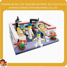 Brinquedo médico set médico carrinho de brinquedo médico conjunto de construção de brinquedos para meninos