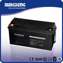 High pergormance dry batteries for ups 12v 150ah