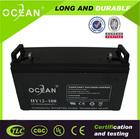 Free maintenance nano gel battery deep cycle agm battery