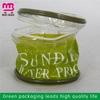Low price guarantee pvc double zipper duffel bag