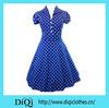 1950's Rockabilly Evening Dress Rockabilly Swing Dress rockabilly Retro Pin-Up Vintage 50s Dress